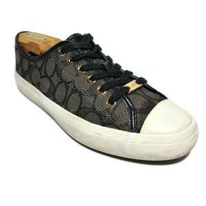 COACH Empire Outline Signature Women's Shoes 7.5